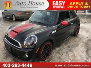 2015 MINI COOPER S JOHN COOPER WORKS CONVERTIBLE NAVIGATION