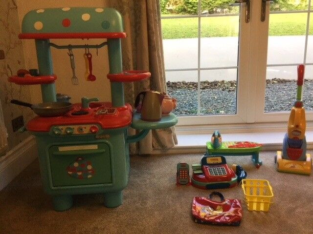 Home and Shopping Toy Bundle