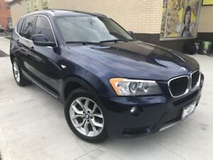2013 BMW X3 28i-xDrive Navigation,Park Assist, Pano Roof