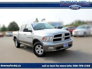 2012 Ram 1500 SLT 4x4 Toneau cover LOOK AT THE KMS!