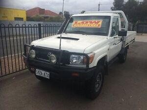 2012 Toyota Landcruiser VDJ79R MY12 Update Workmate (4x4) 5 Speed Manual Clarence Gardens Mitcham Area Preview