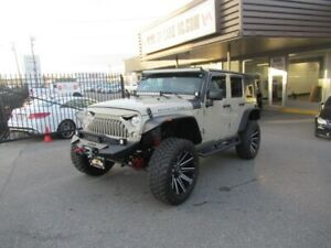 """2018 Jeep Wrangler Unlimited RUBICON """"LIFTED"""" WITH WINCH"""