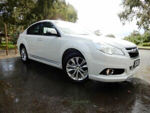 2012 Subaru Liberty B5 MY13 2.5X Lineartronic AWD White 6 Speed Constant Variable Sedan Glenelg East Holdfast Bay Preview
