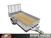 ONTARIO TRAILERS (ART OUL ALUMINUM CLOSED SIDES)