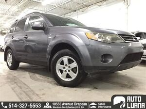 2008 Mitsubishi Outlander 4x4/7 PLACES/BLUETOOTH/MAGS/COMME NEUF