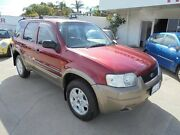 2004 Ford Escape ZB XLT Red 4 Speed Automatic Wagon Bayswater Bayswater Area Preview