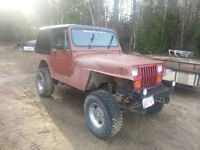 Jeep YJ/TJ Parts/Project Jeep WANTED