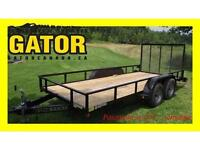 WINTER CLEARANCE**  GATOR 16' LANDSCAPING -ATV - SIDE BY SIDE