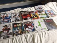 Selection of 13 Wii games