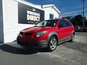 2004 Pontiac Vibe HATCHBACK 5 SPEED 1.8 L