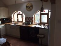 country style kitchen units, 200.00 Good condition