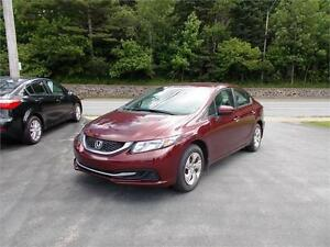 2014 HONDA CIVIC LX...LOADED!!! BLUETOOTH & HEATED FRONT SEATS!!