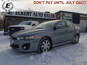 2016 MITSUBISHI LANCER ES  DO NOT PAY FOR 6 MONTHS OAC!!