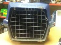 pet carrier navy fit small dog /cat/kitten/rabbit