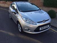 2011 (61) Ford Fiesta 1.25 Zetec 3 Door 1 PRIVATE OWNER FRON NEW 50,000 MILES
