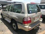 2002 Toyota Landcruiser UZJ100R GXL Gold 5 Speed Automatic Wagon Winnellie Darwin City Preview