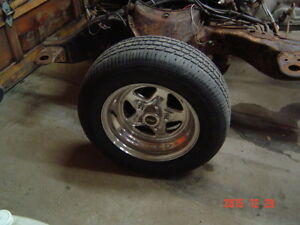 2 rims 15x12 for a rat rod