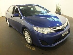 2015 Toyota Camry AVV50R Hybrid H Reflex Blue Continuous Variable Sedan Clemton Park Canterbury Area Preview