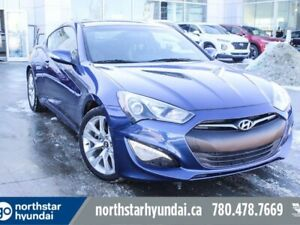 2016 Hyundai Genesis Coupe PREM/V6/LEATHER/NAV/LOWKM