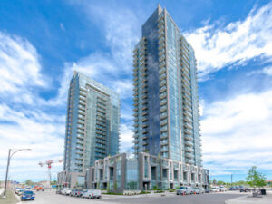 Brand New Lower Penthouse for Lease at Hwy10/Eglinton! 1+Den