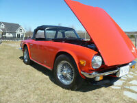 SHOW WINNING TRIUMPH TR6 CONVERTIBLE FOR SALE