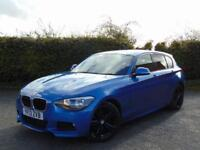 2013 13 BMW 1 SERIES 2.0 118D M SPORT 5D AUTOMATIC DIESEL