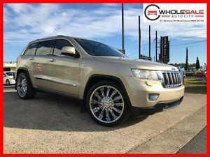 2011 Jeep Grand Cherokee WK Limited Wagon 5dr Spts Auto 5sp 4x4 5.7i [MY11] Gold Sports Automatic Minchinbury Blacktown Area Preview