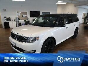 2019 Ford Flex SEL AWD Moon Roof, Navigation, Leather