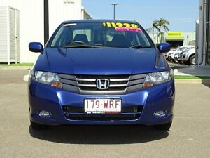 2010 Honda City GM MY10 VTi-L Deep Lapis Blue 5 Speed Manual Sedan Garbutt Townsville City Preview