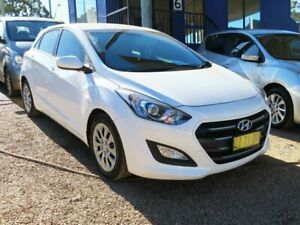 2016 Hyundai i30 GD4 Series II MY17 Active White 6 Speed Sports Automatic Hatchback Mount Druitt Blacktown Area Preview