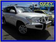 2009 Toyota Landcruiser VDJ200R Sahara (4x4) White 6 Speed Automatic Wagon Penrith Penrith Area Preview