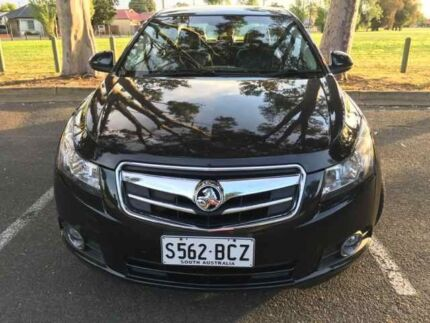NEAT AND TIDY SPARKLING BLACK CDX HOLDEN CRUZE **LADY OWNER** Adelaide CBD Adelaide City Preview