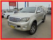 2009 Toyota Hilux GGN25R MY09 SR5 Silver 5 Speed Automatic 4D Utility Holroyd Parramatta Area Preview