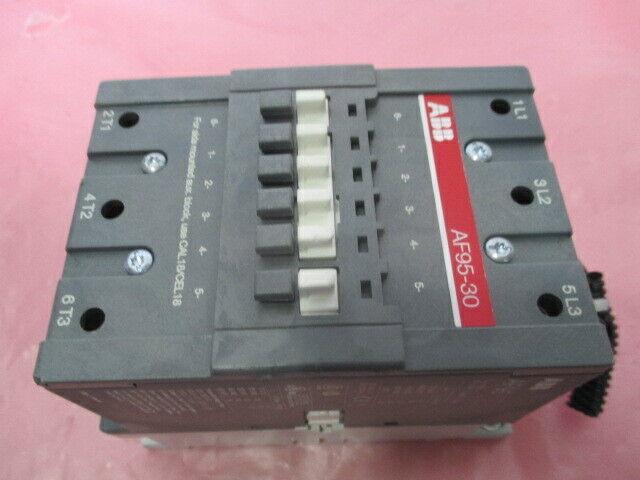 ABB AF95-30 Contactor w/ Cal18-11 Aux Contact Block, AF95, 451372