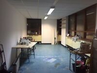 Artist studio share in Seven Sisters, London North, N15