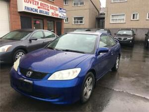 2004 Honda Civic Cpe Si
