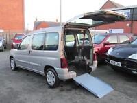 Citroen Berlingo, wheelchair accessible, disabled access, mobility car, WAV