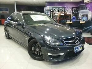 2011 Mercedes-Benz C63 W204 MY11 AMG Black 7 Speed Automatic G-Tronic Sedan Greenacre Bankstown Area Preview