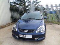 Honda Civic Vtec executive 1.6 spares or repairs