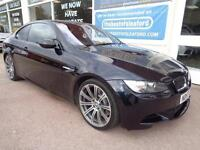 BMW M3 4.0 2007 M3 Full S/H Nav leather Low miles Tracker Ftted P/X