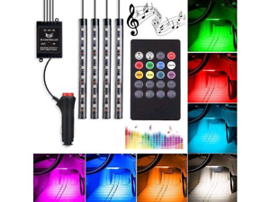 72 LED Multicolor Music Led Interior Lights
