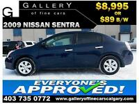 2009 Nissan Sentra 2.0 $89 bi-weekly APPLY NOW DRIVE NOW