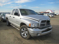 2004 DODGE RAM 1500 QUAD CAB FOR PARTS