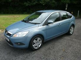 FORD FOCUS 1.6 STYLE 5d 100 BHP (blue) 2009
