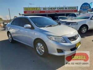 2007 Toyota Corolla ZRE152R Ascent Blue 4 Speed Automatic Sedan Campbelltown Campbelltown Area Preview
