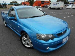 2002 Ford Falcon BA XR6 Blue 4 Speed Auto Seq Sportshift Utility Maidstone Maribyrnong Area Preview