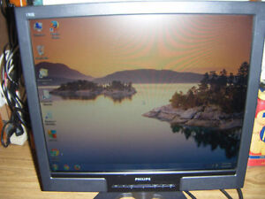 Philips 19 inch lcd monitor for sale
