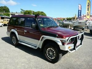 1993 Mitsubishi Pajero NJ GLS Maroon Automatic Wagon Townsville Townsville City Preview