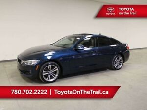 2015 BMW 4 Series 428iX GRAN COUPE; AWD, HUD, SUNROOF, NAV, HEAT