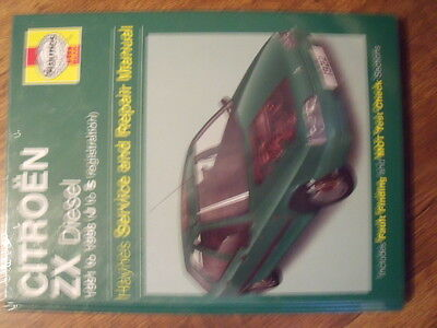 citroen zx 1991 to 1998 diesel haynes manual new and sealed